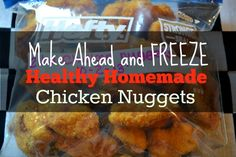 DIY Freezer Friendly Chicken Nuggets