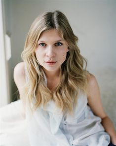 Photo of Clemence Poesy for fans of Clemence Poesy. Photoshoot by David…