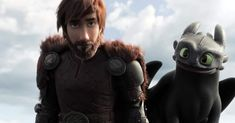 How to Train Your Dragon - Freeing The Night Fury: After taking down a Night Fury, instead of killing it, Hiccup (Jay Baruchel) frees the dragon from his tra. Jay Baruchel, Dreamworks Dragons, Dreamworks Animation, Hindi Movies, Hiccup And Toothless, Hiccup And Astrid, Httyd 3, Disney Pixar, Disney Movies