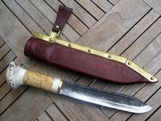 Viking seax knife by KvenlandForgeworks on Etsy