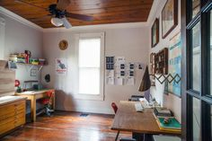 An East Austin Home Full of Mid-C Furniture & 1930s Industrial Ephemera
