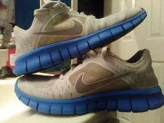 5a01367cdfb3 Boys Nike Free Run Athletic Shoes size 4.5  fashion  clothing  shoes   accessories