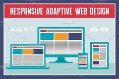 Responsive Web Design by serkorkin on @creativemarket