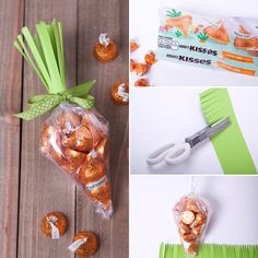 Simple carrot treat bags - perfect for Easter!