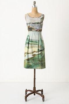 Artist's Rendering Dress-Anthropologie.com - StyleSays