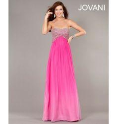 $790.00 Jovani Prom Dress at http://viktoriasdresses.com/ Through John's Tailors