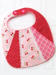 9d208b3a9e0 Patchwork Bibs Sewing Pattern – TREASURIE - My Childhood Treasures Baby  Bibs Patterns