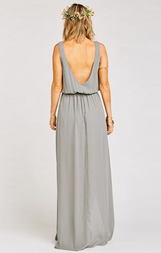 It sounds weird but if the Jocelyn Maxi and the Kiersten Maxi had a baby, it would be ever perfected Kendall Maxi. A soft V neck and low back are ultra feminine and flatter every body, the wrap around skirt that creates a slit lets you pull an Angelina stance whenever you need (you never know when you're gonna need it). Chill enough for a little pointy toed bootie and classy enough for an elegant heel. Kendall may be a young Mu but she is def on track to be your new go-to maxi.    *MADE IN…