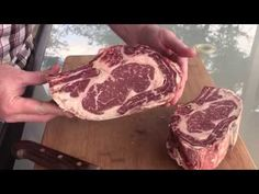 How-To Dry Age Beef at Home - 42 Day Aged Ribeye - YouTube