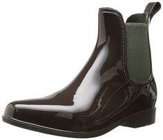 Lauren Ralph Lauren Women's Tally Rain Shoe, Dark Brown/Hunter Green Solid Polyvinyl Chloride/Elastic, 7 B US Lauren by Ralph Lauren http://www.amazon.com/dp/B00L3LP0DW/ref=cm_sw_r_pi_dp_ZxsTvb1GHKG71