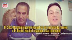 Pr Silas Malafaia chama evangélico de perturbado mental, e Pr Daniel Mas...