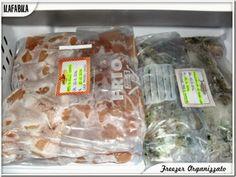 Freezer Organizzato