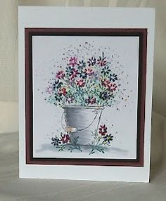 New Card-io 2019 Clear Stamps Buckets of Fun