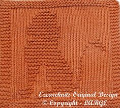Knitting Cloth Pattern  MAJESTIC LION  PDF by ezcareknits on Etsy