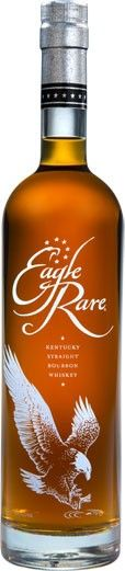 "Eagle Rare 10 Year Old Kentucky Straight Bourbon #Whiskey.  Aged for a minimum of ten years, this Kentucky straight #bourbon was named the ""Best Bourbon""at the 2013 International Wine and Spirits Competition. 