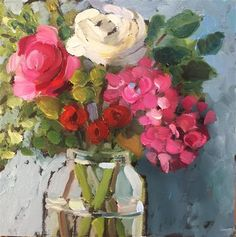 Original Fine Art By © Martha Lever in the DailyPaintworks.com Fine Art Gallery