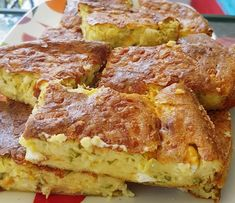 Bread Dough Recipe, Greek Cooking, Food Tasting, Greek Recipes, Diet Recipes, Frittata, International Recipes, Starters, Food To Make