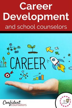 Career Development and school counselors. Use state and local resources that are free to build a comprehensive career development program. Elementary School Counseling, Career Counseling, School Counselor, Career Education, High School Activities, Career Exploration, Guidance Lessons, Career Development, Professional Development