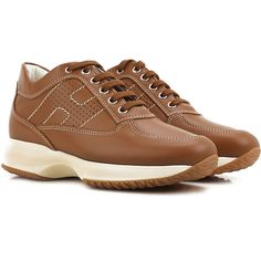 Hogan Shoes and Sneakers from the Latest Collection. Hogan Women's Shoes are available online in a wide selection at the Raffaello Network Store. Fashion Details, Fashion Design, Winter Sale, Suits You, Fashion Shoes, Lace Up, Sneakers, Women, Style