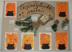 Čarodějnické vaření - poznáváme bylinky Halloween Crafts, Halloween Party, Special Day, Indiana, Crafts For Kids, Kindergarten, Witch, Projects To Try, Spring