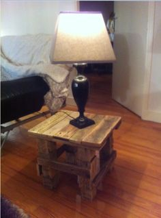Tablette Pallet Coffee Table
