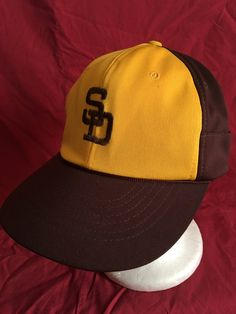 59ffd0f5410 Vintage San Diego Padres cap hat-MLB-friars-the pads by vintagecoolbyLuis on