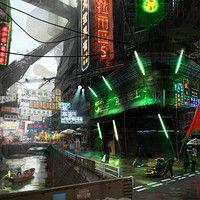 Personal Sci-fi Universe Project