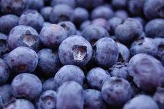 Blueberries and yoghurt..good for the waist!