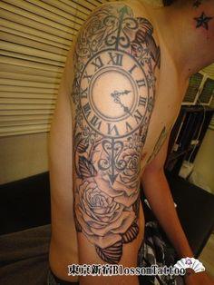 バラの花のタトゥー/刺青画像 | BlossomTattoo