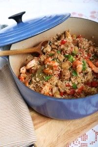 Easy Peasy Jambalaya One Pot Wonders, One Pot Dishes, Jambalaya, Easy Weeknight Dinners, Easy Peasy, Paella, Fried Rice, Cooking, Ethnic Recipes