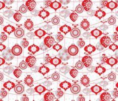 Ornaments fabric by mandakay on Spoonflower - custom fabric