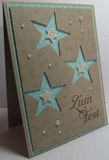 **Kartenfreak´s Stempelblog** : Weihnachtskarten - die Letzten