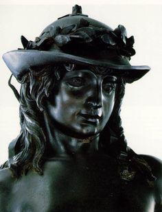 DONATELLO  David (detail)  1430s  Bronze  Museo Nazionale del Bargello, Florenc