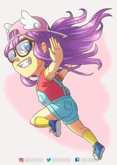 Arale chibi, made by me 💕
