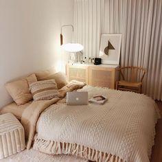 Cozy Home Interior .Cozy Home Interior Cozy Bedroom, Bedroom Decor, Master Bedroom, Bedroom Ideas, Master Suite, Master Master, White Bedroom, Bedroom Designs, Kids Bedroom