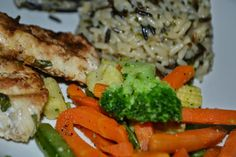 Spice Up your Life: Wild Rice, Grilled Chicken, and Veggies