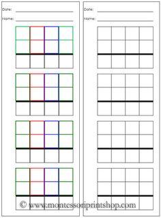 math worksheet : montessori on pinterest  continents montessori materials and  : Montessori Math Worksheets