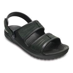 Crocs Yukon Mesa Men's Sandals, Size: 12, Black #menssandals