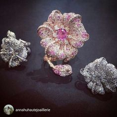 "@annahuhautejoaillerie ""Jewelry is love""- Anna."