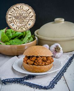 Sloppy Joes  Prep Time: 10 Minutes  Cook Time: 20 Minutes  Makes: 6 Servings