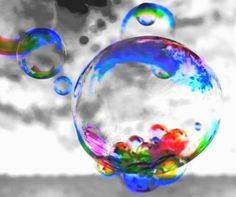 :)THERES BUBBLES ARE LOVE BUBBLES TO SHOW HOW MUCH WE LOVE N MISS YOU LAURIE .