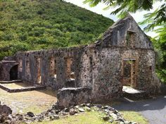 Annaberg Ruins St John, US Virgin Islands