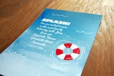 Splash Invitation - Pool Party/Summer