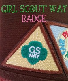For our very first Brownie meeting we thought it would be a perfect to work on the Girl Scout Way badge! We had a couple new girls join our troop and this was a perfect way to introduce and re-introduce Girl Scouting! Step 1 SING EVERYWHERE This year Girl Scout Songs, Girl Scout Leader, Daisy Girl Scouts, Girl Scout Troop, Girl Scout Crafts, Girl Scout Brownie Badges, Brownie Girl Scouts, Girl Scout Cookies, Girl Scouts Of America
