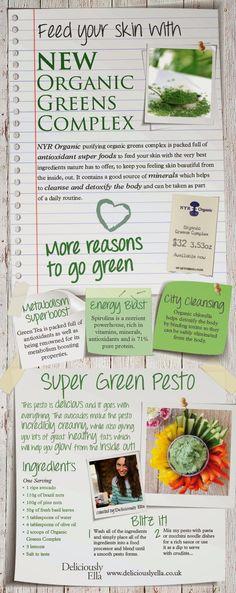 Palacinka Beauty Blog: Health and Wellness Find - Neal's Yard Remedies's Organic Greens Complex