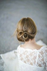 Lots of wedding hair inspiration for chignon hairstyles including top tips and tutorials.