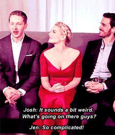 Josh, Jennifer and Colin #SDCC 2014