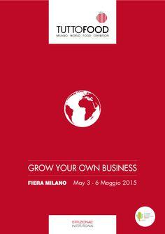 Fiera del food and beverage a Milano 3-6 maggio 2015