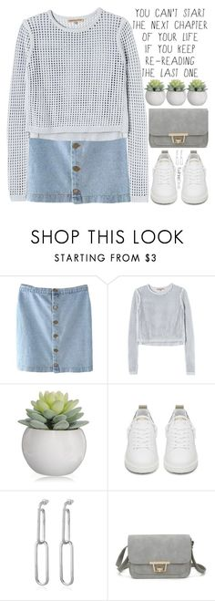 """is it just me or are girls the most beautiful creatures to walk the earth"" by exco ❤ liked on Polyvore featuring Rebecca Taylor, Golden Goose, casual, white, clean, organized and twinkledeals"