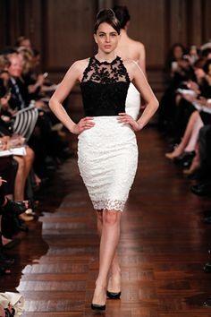 Romona Keveza - Spring 2012 Evening Collection ... I'm in LOVE! but floor length and diff. colors